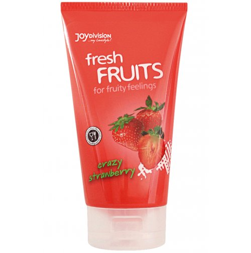 Лубрикант - freshFRUITS Crazy Strawberry купить