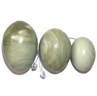 нефритовые вагинальные шарики (набор из 3-х штук)