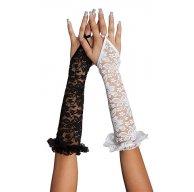 Женские кружевные перчатки