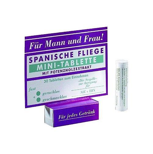 Возбуждающие таблетки SPANISCHE FLIEGE MINI-TABLETTE
