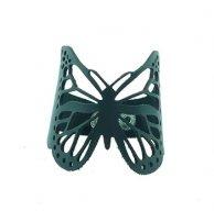 Кожаный браслет на руку Бабочка