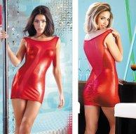 Платье Red Corner красное