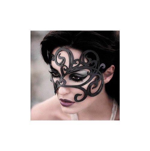 Секс шоп маски - Ажурная кожаная маска