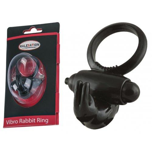 Купить эрекционное кольцо - MALESATION Vibro-Rabbit-Ring