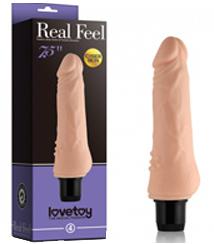 Реалистичный женский вибратор - Reel Feel Vibrator 19см