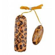 Купить Виброяйцо - Leopard Print Love Egg