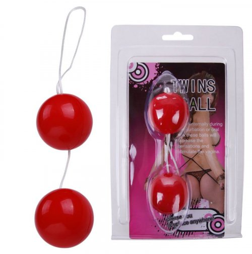 Купить женские вагинальные шарики Twin Balls Pink