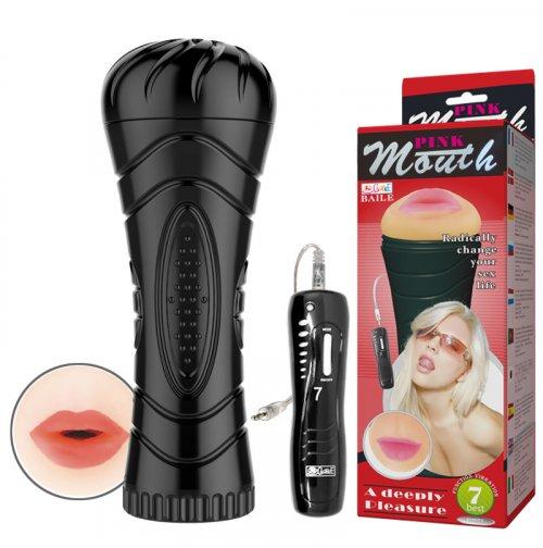 Купить Мужской мастурбатор - Masturbator Cup, Vibration Mouth