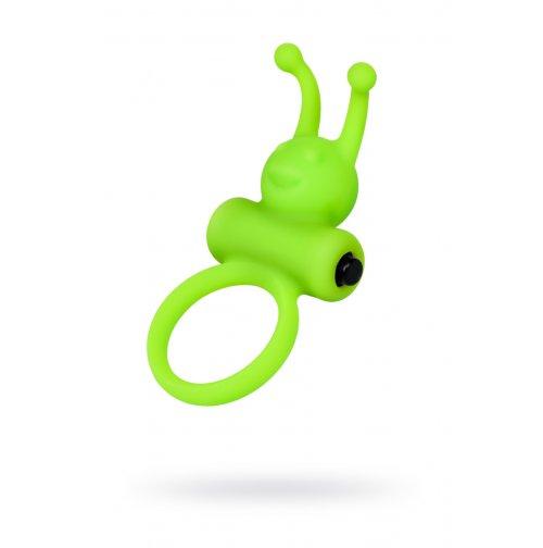 Эрекционное кольцо на пенис A-Toys силикон, зеленый, ø 3,1 см купить