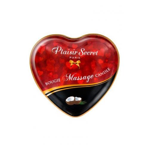 Купить массажную свечу Plaisirs Secrets Coconut, 35 мл