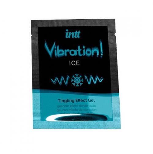 Жидкий вибратор Intt Vibration Ice пробник, 5 мл купить в сексшопе