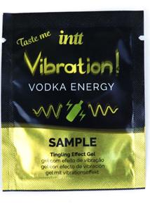 Жидкий вибратор Intt Vibration Vodka (пробник 5 мл) очень мощный