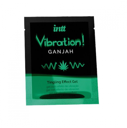 Купить жидкий вибратор Intt Vibration Ganjah (проник 5 мл)
