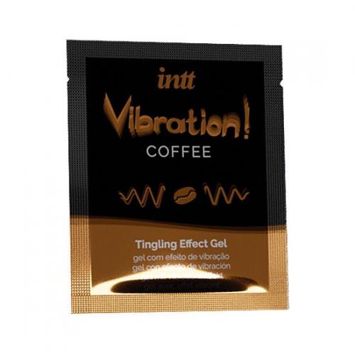 Купить жидкий вибратор Intt Vibration Coffee (пробник5 мл)
