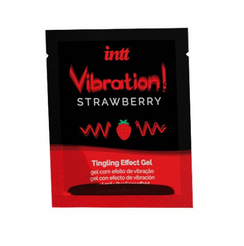 Купить Жидкий вибратор Intt Vibration Strawberry
