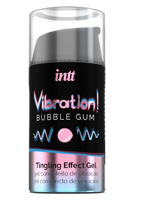 Жидкий вибратор Intt Vibration Bubble Gum,15 мл
