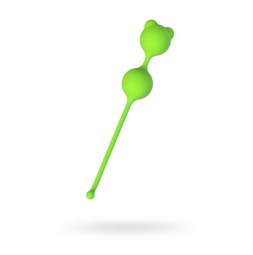 Купить вагинальные шарики зеленые A-Toys By Toyfa