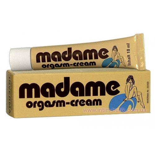 Возбуждающий женский крем MADAME ORGAZM